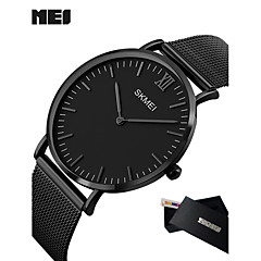 Муж. Модные часы Наручные часы Спортивные часы Нарядные часы Смарт Часы Китайский Кварцевый Календарь LED Крупный циферблат Металл Группа