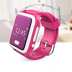 cheap Digital Watches-Men's Kid's Smart Watch Digital Rubber Band Blue Pink