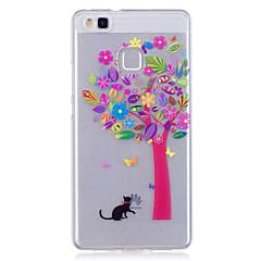 Недорогие Чехлы и кейсы для Huawei серии Y-Чехол для huawei p10 lite p10 phone case tpu материал imd процесс цветной дерево узор hd телефон чехол чехол 8 p9 lite p8 lite y6 ii y5 ii