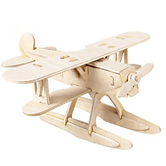 voordelige -3D-puzzels Houten modellen Vechter DHZ Hout Klassiek Unisex Geschenk