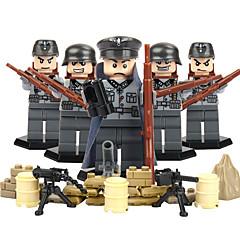 tanie -Klocki Figurki z klocków Zabawka edukacyjna Zabawki Wojownik Eagle Wojskowy Nie określony Sztuk