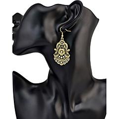 Dames Druppel oorbellen Basisontwerp Cirkelvormig ontwerp Uniek ontwerp Hangende stijl Cirkel Vriendschap Modieus Opvallende sieraden