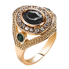 preiswerte Ringe-Damen Kristall Statement-Ring / Ring - Harz, Strass Personalisiert, Luxus, Einzigartiges Design 7 / 8 / 9 Rot / Grün / Blau Für Weihnachten / Weihnachts Geschenke / Hochzeit