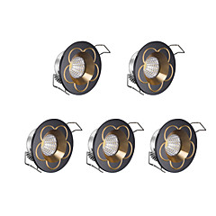 abordables Luces LED de Armario-3 W LED Regulable Luces LED de Armario Blanco Fresco 220 V / 5 piezas
