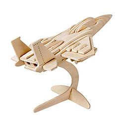 voordelige -Muwanzi 3D-puzzels Legpuzzel Houten modellen Vliegtuig Vechter Beroemd gebouw Architectuur 3D DHZ Hout Klassiek Unisex Geschenk