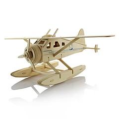 ieftine -Puzzle 3D Puzzle Μοντέλα και κιτ δόμησης Jucarii Aeronavă Luptător 3D Reparații De lemn Pentru copii Băieți Bucăți