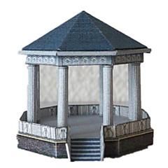 preiswerte -3D - Puzzle Papiermodel Papiermodelle Modellbausätze Berühmte Gebäude 3D Heimwerken Hartkartonpapier Klassisch Unisex Geschenk