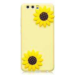 tanie Etui / Pokrowce do Huawei-Obudowa dla huawei p10 p10 plus obudowa pokrowiec kwiatowy wzór kolor owoców tpu materiał futerał do telefonu komórkowego