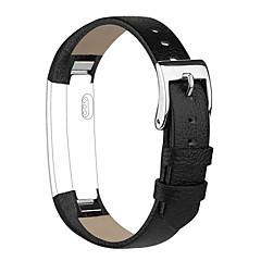 Натуральная кожа Классическая застежка Для Fitbit Смотреть