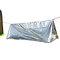 Fengtu 1 사람 텐트 악세서리 싱글 캠핑 텐트 원 룸 접이식 텐트 휴대용 방풍 콤팩트 초경량 재질 용 수렵 캠핑&등산 코팅 알루미늄 포일 CM