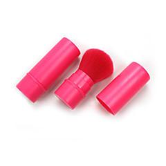 Telescopic Super Soft Makeup Brush Pink Powder Brush Blush Brush Portable