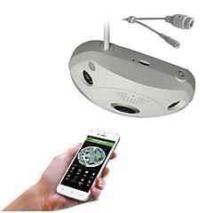 tanie Kamery IP-Silicon® 1.3mp 360degree vr panoramiczny fisheye sieć podczerwona bezprzewodowy bezprzewodowy monitoring wewnętrzny ip camera
