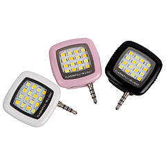 1 pcs YWXLight® LED Flash Fill Light iPhone Smartphone Portable Cell Phone Rechargeable