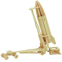 voordelige -3D-puzzels Legpuzzel Houten modellen Strijdwagen 3D DHZ Hout Natuurlijk Hout 6 jaar en ouder