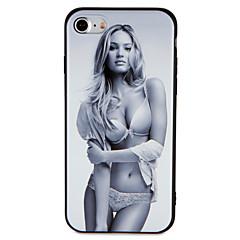 Недорогие Кейсы для iPhone 6-Кейс для Назначение iPhone 7 Plus IPhone 7 iPhone 6s Plus iPhone 6 Plus iPhone 6s iPhone 6 iPhone 5 Apple С узором Рельефный Кейс на