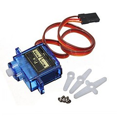 お買い得  Arduino 用アクセサリー-5x pcs sg90マイクロサーボモータ9g rcロボットヘリコプター飛行機ボートコントロール