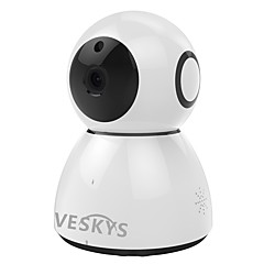 Veskys® 2.0mp 1080p hd supraveghere de securitate wifi ip camera de stocare nor de stocare în două direcții audio de la distanță monitor