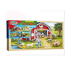 Bildungsspielsachen Holzpuzzle Spielzeuge Rabbit Schwein Haus andere friut Unisex Stücke
