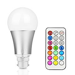 お買い得  LED 電球-1個 12 W 800 lm B22 / E26 / E27 LEDスマート電球 A60(A19) 1 LEDビーズ 集積LED 調光可能 / リモコン操作 / 装飾用 RGBW / RGBWW 85-265 V / # / 1個 / RoHs