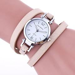 preiswerte Tolle Angebote auf Uhren-Damen Armband-Uhr Chinesisch Armbanduhren für den Alltag PU Band Retro / Freizeit / Modisch Schwarz / Weiß / Blau / Ein Jahr / TY 377A