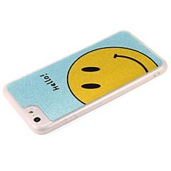 Недорогие Кейсы для iPhone 6-Кейс для Назначение Apple iPhone 7 Plus iPhone 7 Сияние в темноте С узором Кейс на заднюю панель Слова / выражения Сияние и блеск
