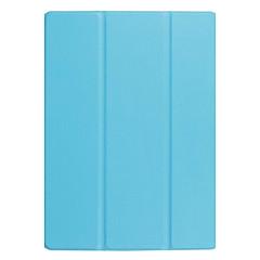 お買い得  タブレット用ケース-ケース 用途 Huawei MediaPad MediaPad M3 Lite 10 スタンド付き / 磁石バックル フルボディーケース ソリッド ハード PUレザー のために Huawei MediaPad M3 Lite 10