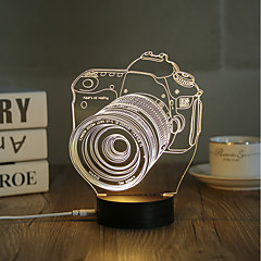 preiswerte Neuheiten LED - Beleuchtung-Dekorations Beleuchtung LED-Nachtlicht USB-Lichter-0.5W-USB Dekorativ - Dekorativ