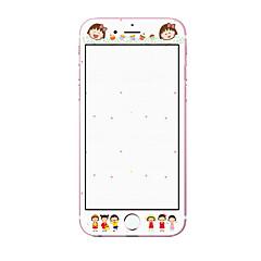 Недорогие Защитные пленки для iPhone 6s / 6-Защитная плёнка для экрана для Apple iPhone 6s Айфон 6 Закаленное стекло Защитная пленка на всё устройство Уровень защиты 9H