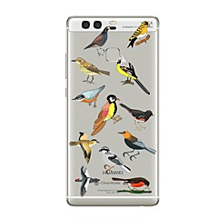 Чехол для huawei p8 lite2017 p10 крышка прозрачный чехол для птиц мягкий tpu для p10 lite p10 plus p9 plus p9 lite p9 p8 lite p8 mate9 pro