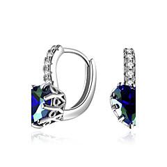 abordables Bijoux pour Femme-Femme Zircon Diamant synthétique Clips - Zircon, Émeraude Luxe, Naturel, Hip-Hop Or / Argent Pour Soirée L'obtention du diplôme Scène