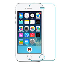 0.26mm Rounded Edge Transparent 9H Toughened Glass Membrane Screen Protector for iPhone 5/5S/5C