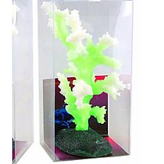 Akvaario Sisustus Koralli Loistava Silikoni