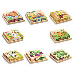 3D-puzzels Educatief speelgoed Legpuzzel Speeltjes Rabbit Kat Dieren Dieren Niet gespecificeerd Kinderen Stuks