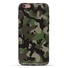 billige iPhone 5-etuier-Taske til iphone 7 6 camouflage farve tpu blødt ultra-tyndt bagside cover cover iphone 7 plus 6 6s plus se 5s 5 5c 4s 4