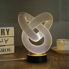 Dekorations Lys LED Night Light USB Lys-0.5W-USB Dekorativ - Dekorativ