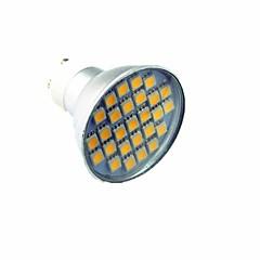 economico Lampadine LED-3W Faretti LED 27 leds SMD 5050 Decorativo Luce fredda 300lm 7000K AC220V