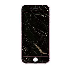 olcso iPhone 7 képernyővédő fóliák-Képernyővédő fólia Apple mert iPhone 7 Edzett üveg 1 db Védőfólia 3D gömbölyített szélek Minta Robbanásbiztos 9H erősség
