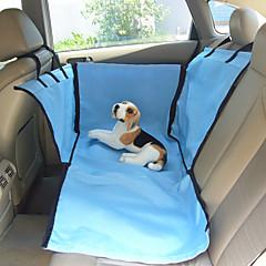 Γάτα Σκύλος Κάλυμμα Καθίσματος Αυτοκινήτου Κατοικίδια Καλάθια Μονόχρωμο Μπεζ Μπλε