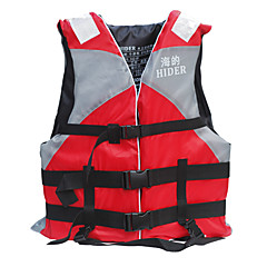 HiUmi Unisexo Protecção Ultra Leve (UL) Fato de Mergulho Sem Manga Jaqueta Jaquetas Salva-Vidas Colete Salva-Vidas-Pesca Snorkeling