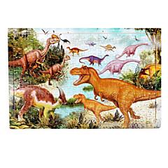 Bildungsspielsachen Holzpuzzle Spielzeuge Dinosaurier Unisex Stücke