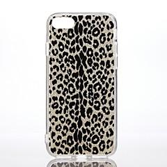 Чехол для Apple iphone 7 7 плюс ударопрочный узор задняя крышка чехол леопард печать блеск сияющий жесткий ПК для iphone 6s плюс 6 плюс