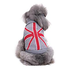 Hond Truien Hondenkleding Casual/Dagelijks Nationale Vlag Kostuum Voor huisdieren