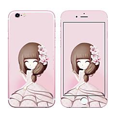 Недорогие Защитные пленки для iPhone 6s / 6-Защитная плёнка для экрана для Apple iPhone 6s Айфон 6 Закаленное стекло Защитная пленка для экрана и задней панели Уровень защиты 9H