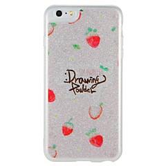 Case for apple iphone 7 plus iphone 7 cover glow in the dark шаблон задняя крышка case word / фраза фруктовый блеск shine hard pc для