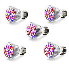 5W E14 GU10 E27 LED Grow Lights 28 leds SMD 5730 800lm Warm White White Red Blue AC 85-265
