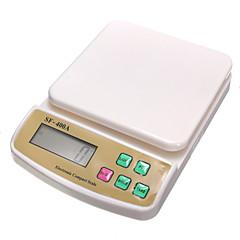 sf400a 백라이트 전자 고정밀 가정용 주방 규모 0.1g을 (영어 (7kg / 1g)