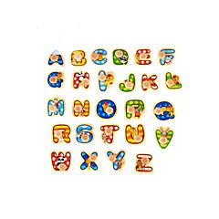 3D퍼즐 직쏘 퍼즐 장난감 숫자 문자 3D 규정되지 않음 조각