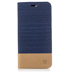 Case For One Plus 5 One Plus 3 Case Cover Card Holder with Stand Flip Full Body Case Solid Color Hard TPU