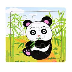 Bildungsspielsachen Holzpuzzle Spielzeuge Ente Bär Panda Meerestier andere Tiere Unisex Stücke