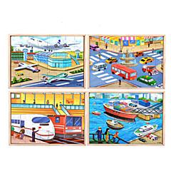 Bildungsspielsachen Holzpuzzle Spielzeuge Schleppe Schiff LKW andere friut Unisex Stücke
